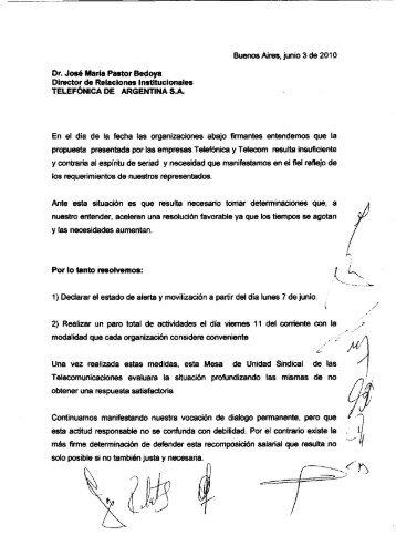Buenos Aires, junio 3 de 2010 Dr. José Miaría ... - OPSTTA Capital