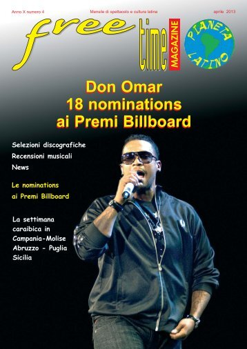 Don Omar 18 nominations ai Premi Billboard Don Omar 18 ...