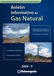 Diciembre 2008 - Organismo Supervisor de la Inversión en Energía ...