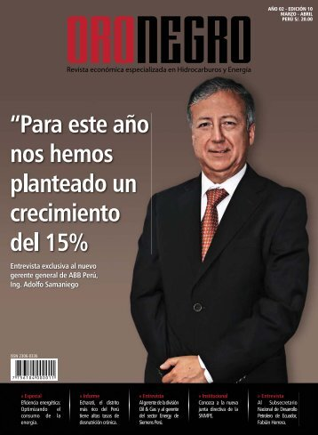 Portada - Revista Oro Negro