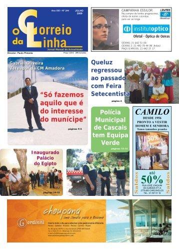 Julho - Jornal o Correio da Linha