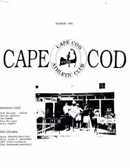DECEMBER 1993 - Cape Cod Athletic Club