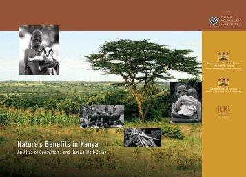 Nature's Benefits in Kenya: An Atlas of Ecosystems - UNDP-UNEP ...