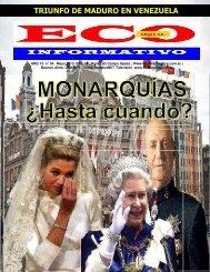 La censura reina en el reino de España. (4-5) - ECO INFORMATIVO ...