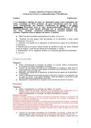 1 Examen Atmósfera. Primera Evaluación. Ciencias de la Tierra y ...