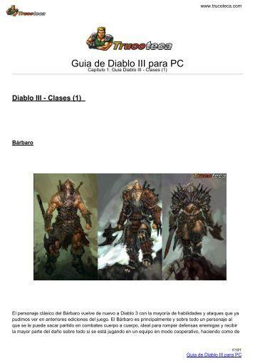 Guia de DIABLO III para PC - Trucoteca.com