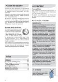 69500319 DC42 dcw42 esp nov10 Rev00a.indd - Electrolux - Page 2