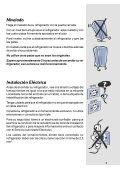 Refrigerador RE26 y RE29 - Electrolux - Page 7