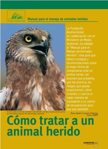 Fundac. Bio-dic.-animal herido - Hispagua