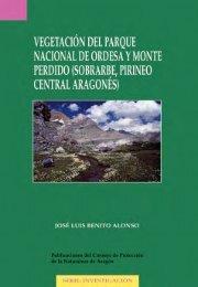 Vegetación del Parque Nacional de Ordesa y Monte Perdido