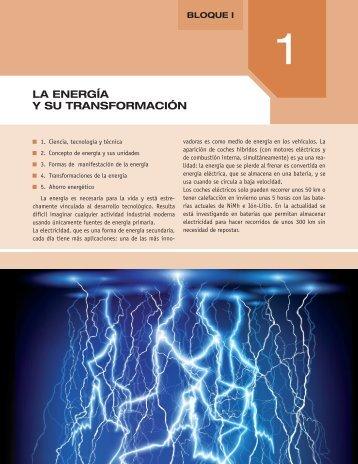 LA ENERGíA Y SU TRANSFORMACIÓN - McGraw-Hill