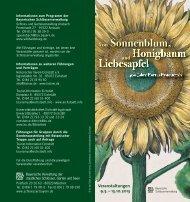 Veranstaltungen 9.5. ? 13.10.2013 - Bayerische Verwaltung der ...