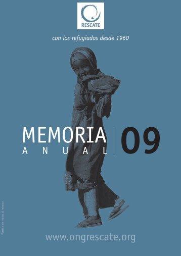 Memoria 2009 en castellano - Comité Internacional de Rescate