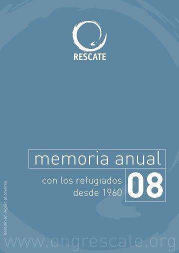 Memoria 2008 en castellano - Comité Internacional de Rescate