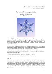 Nieve y granizo: conceptos básicos - Divulgameteo