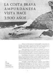 la costa brava ampurdanesa vista hace 2.500 ... - Revista de Girona