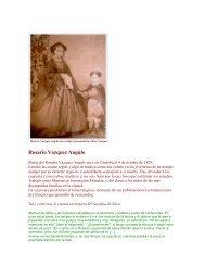 Rosario Vázquez Angulo - Andalucía comunidad cultural