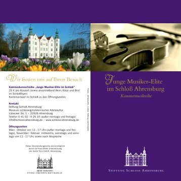 Layout - Schloss Ahrensburg