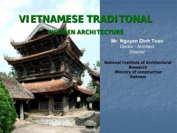 VIETNAMESE TRADITONAL WOODEN ARCHITECTURE - IIBH