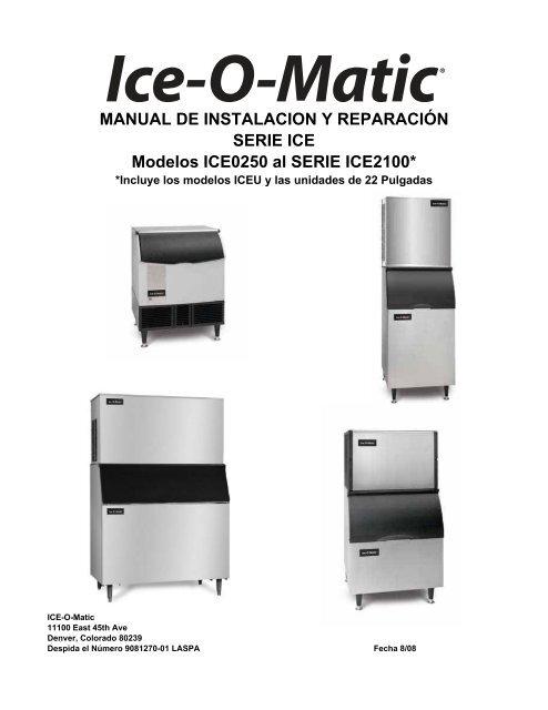 manual de instalacion y reparaci�n serie ice o matic Alto Shaam Wiring Diagram