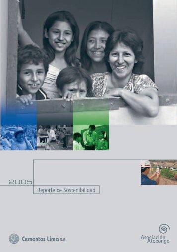OK reporte atocongo 2005 - Asociación Atocongo
