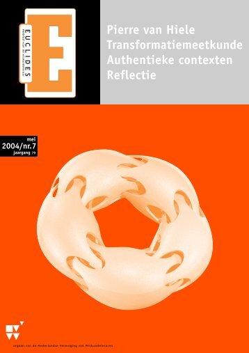 79-7 - Nederlandse Vereniging van Wiskundeleraren