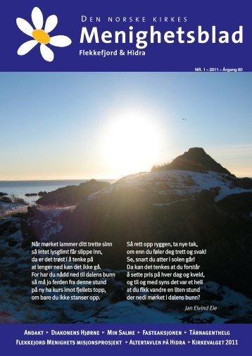 EN NORSKE KIRKES Menighetsblad - Flekkefjord kirke - Den ...