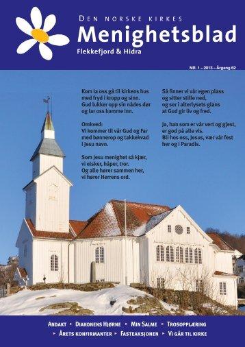 Menighetsblad - Flekkefjord kirke - Den norske kirke
