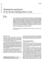 de las hernias diafragmáticas raras - cinco