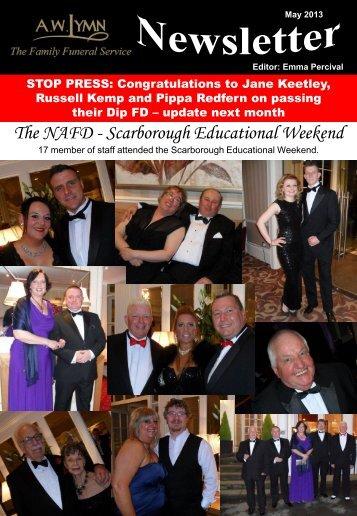 May 2013 Newsletter - A.W.Lymn
