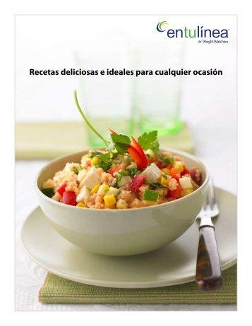 Recetas deliciosas e ideales para cualquier ocasión - Entulinea
