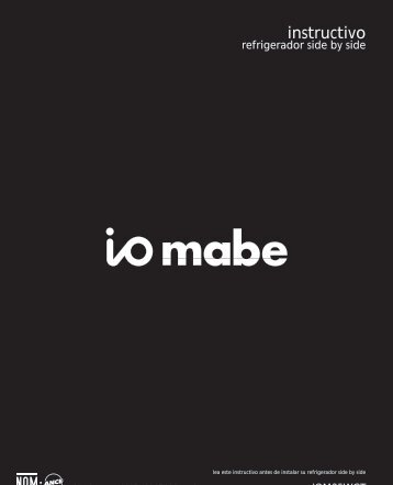 Installation Instructions - Mabe