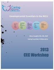 Developmental Essentials in the NICU - Caring Essentials ...