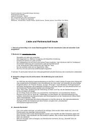 Liebe und Partnerschaft heute.pdf - Institut für Soziologie - Friedrich ...