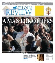 Pope Francis - Archdiocese of St. Louis
