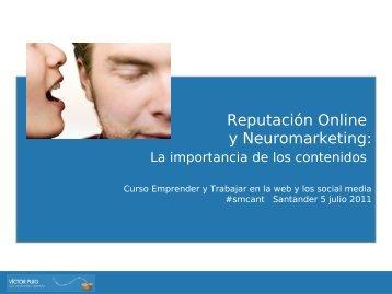 Reputación Online y Neuromarketing: