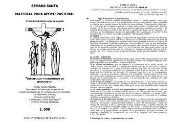 Semana Santa. Material para apoyo pastoral - Autores Catolicos