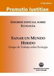 """Ecología: """"Sanar un mundo herido"""" - Ausjal"""