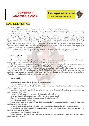 ADVIENTO2.pdf - Hermanos de la Sagrada Familia