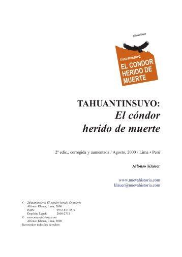 TAHUANTINSUYO: El cóndor herido de muerte - Eumed.net
