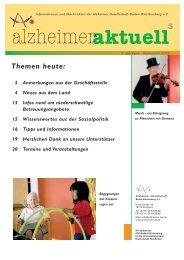 Themen heute: 2 Anmerkungen aus der Geschäftsstelle 4 Neues ...