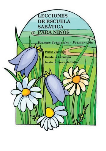 lecciones de escuela sabática para niños