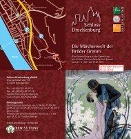 Flyer zur Weihnachtsausstellung - Schloss Drachenburg