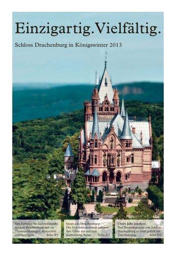 Programmheft 2013 zum Download - Schloss Drachenburg