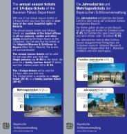 Die Jahreskarten und Mehrtagestickets der Bayerischen