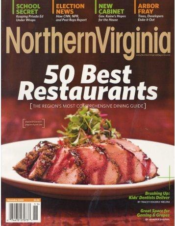 Northern Virginia Magazine 2008 - Barakat Orthodontics