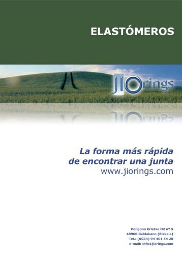 CATALOGO ELASTOMEROS - JIORINGS