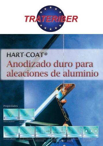 Anodizado duro para aleaciones de aluminio ... - Grupo Trateriber