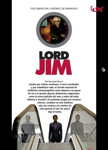 CINE/Lord Jim. - Revista La Central