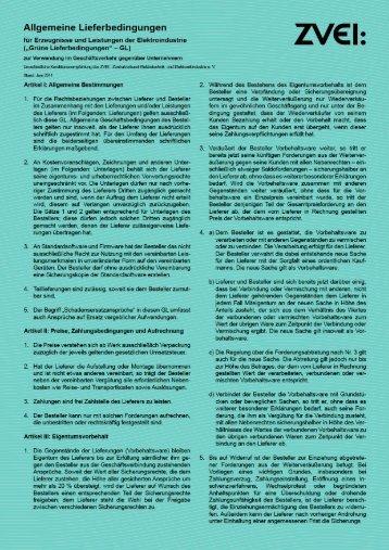 Allgemeine Lieferbedingungen (PDF)